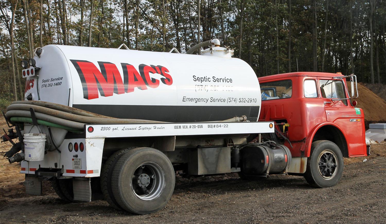 Macs-Septic Service 574-262-1400